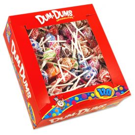 Spangler Assorted Dum Dum Pops - 120ct