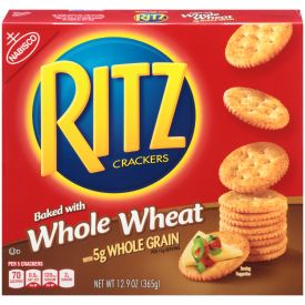 Nabisco Ritz Whole Wheat Crackers - 12.9oz