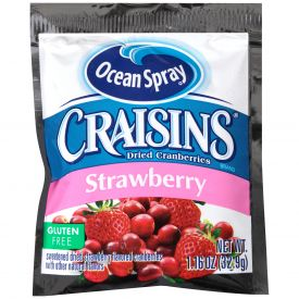 Strawberry Flavored Craisins 1.16oz.