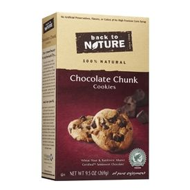 Back to Nature Chocolate Chunk Cookies 9.5 oz