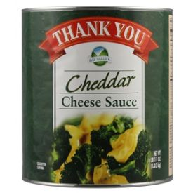 Thank You Aged Cheddar Cheese Sauce - 107oz