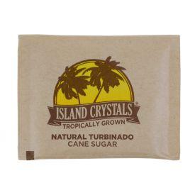 Island Crystals Natural Turbinado Cane Sugar Packets 4.5gm.