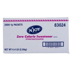 N'joy Sugar Substitute Saccharin 1gm.