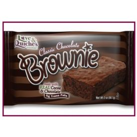 Love and Quiches Classic Chocolate Brownie 2oz.