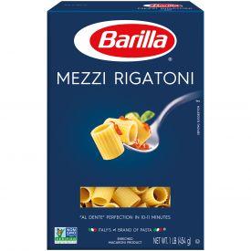 Barilla Mezze Rigatoni Pasta - 16oz