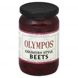 Olympos Steamed Greek Beets - 24.3oz