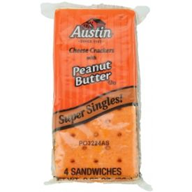 Austin Cheese Crackers with Peanut Butter - 91oz