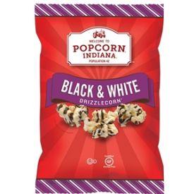 Popcorn Indiana Black And White Drizzlecorn - 6oz
