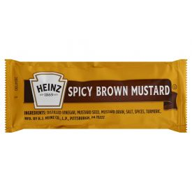 Heinz Spicy Brown Mustard Sauce 9gm.