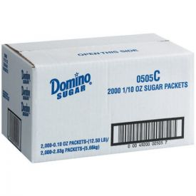 Commodity Sugar Packets 0.1oz.