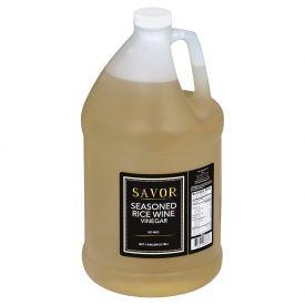 Savor Seasoned Rice Wine Vinegar 128oz.