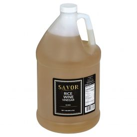 Savor Unseasoned Rice Wine Vinegar 128oz.