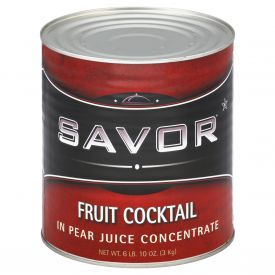 Savor Fruit Cocktail in Juice #10