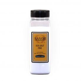 Savor Brand Sea Salt Fine - 32 Oz