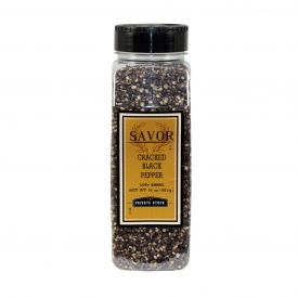 Savor Cracked Black Pepper - 16oz