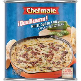 Chef-Mate Que Bueno White Queso Cheese Sauce 106oz.