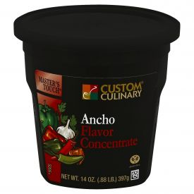 Custom Culinary Masters Touch Ancho Flavor Concentrate - 14oz