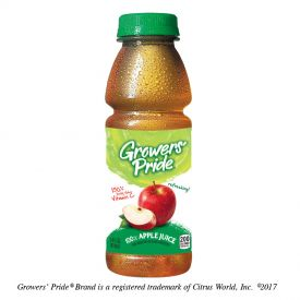 Grower's Pride Apple Juice 14oz.
