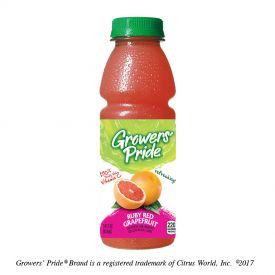 Grower's Pride Ruby Red Grapefruit Juice 14oz.