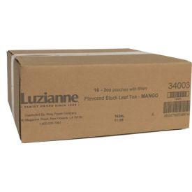 Luzianne Mango Flavored Black Tea 3oz.