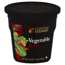 Custom Culinary Masters Touch Vegetable Base - 16oz