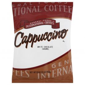 General Foods International White Chocolate Caramel Cappuccino 32oz.