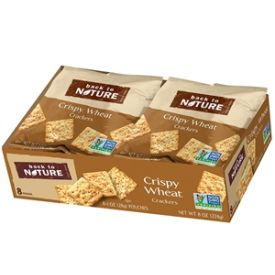Back to Nature Crispy Wheat Crackers - 8oz