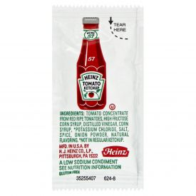 Heinz Low Sodium Tomato Ketchup 9gm.