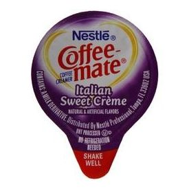 Nestle Coffee-Mate Italian Sweet Creme Liquid Creamer .375oz.