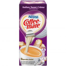 Nestle Coffee-Mate Creamer Italian Sweet Creme Liquid Creamer .375oz.