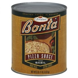 Bonta Fancy Basil Pizza Sauce - 107oz