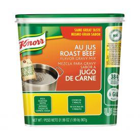 Knorr Classic Au Jus Roast Beef Gravy Mix - 1.99lb