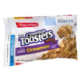 Malt O Meal Cinnamon Toasters Cereal Bulk Pack 24.4oz.