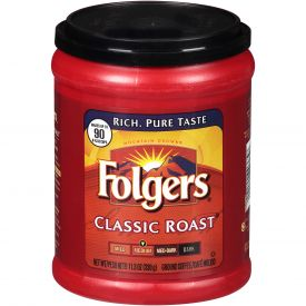 Folgers Classic Roast Canister 11.3oz.