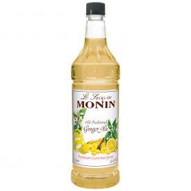 Monin Old Fashioned Ginger Ale Syrup - 33.8oz