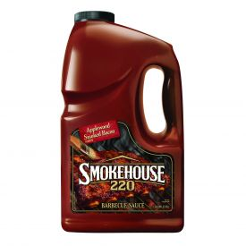 Smoke House Applewood Smoked Bacon Flavor Barbecue Sauce 128oz.