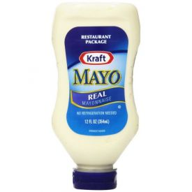 Kraft Mayo Real Upside Down Squeeze Bottle 12oz.