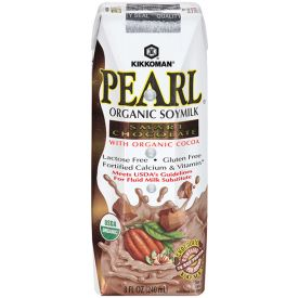 Kikkoman Pearl Organic Soymilk Smart Chocolate 8oz.