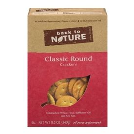 Back to Nature Classic Rounds Crackers 8.5oz