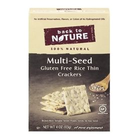 Back to Nature Multi-Seed Rice Thin Cracker 4oz