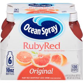 Ocean Spray 100% Ruby Red Grapefruit 10oz.