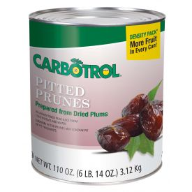 Carbotrol Pitted Prune 110oz.