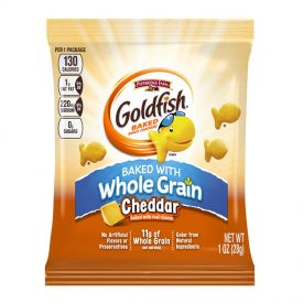 Pepperidge Farm's Goldfish Whole Grain Cheddar Cracker 1oz