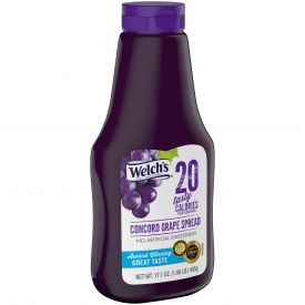 Welch's Squeeze Grape Reduced Sugar Jelly 17.1oz.
