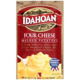 Idahoan Four Cheese Mashed Potatoes - 4oz