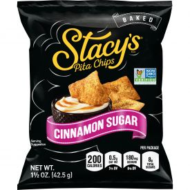 Stacy's Cinnamon Sugar Pita Chips 1.5oz