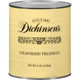 Dickinson Fancy Strawberry Preserves 128oz.