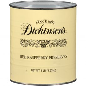 Dickinson Red Raspberry Preserves 128oz.