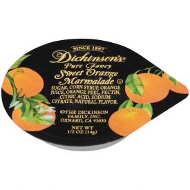 Dickinson Orange Marmalade - 0.5oz