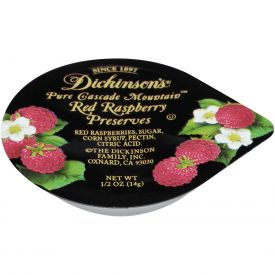 Dickinson Red Raspberry Preserves - 0.5oz